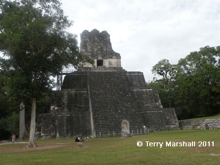 Mayan City of Tikal