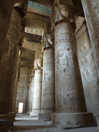 Temples at Dendara and Abydos