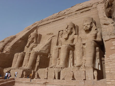 Great Temple of Ramses II at Abu Simbel