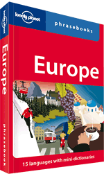 Lonely_Planet Europe Phrasebook